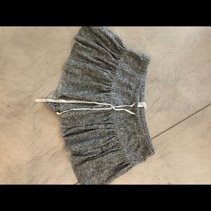 free people knit tennis skirt